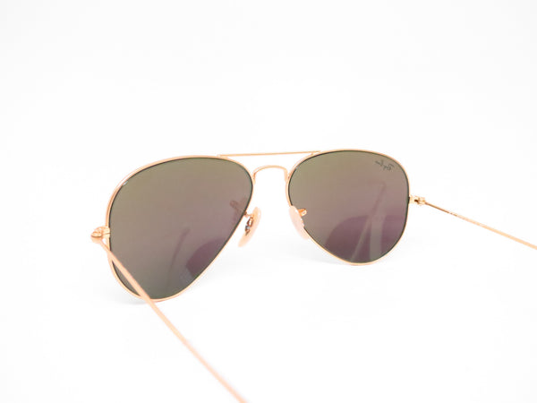 Ray-Ban RB 3025 Aviator 112/19 Matte Gold Sunglasses - Eye Heart Shades - Ray-Ban - Sunglasses - 7