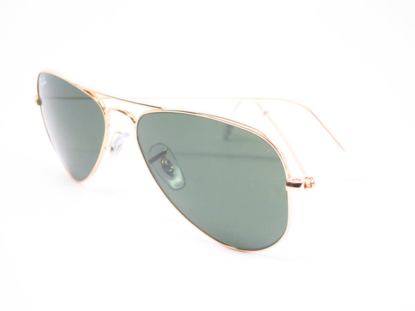 Ray-Ban RB 3044 Aviator Small Metal L0207 Arista (Gold) Sunglasses - Eye Heart Shades - Ray-Ban - Sunglasses - 10