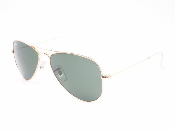 Ray-Ban RB 3044 Aviator Small Metal L0207 Arista (Gold) Sunglasses - Eye Heart Shades - Ray-Ban - Sunglasses - 1