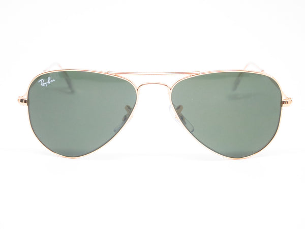 Ray-Ban RB 3044 Aviator Small Metal L0207 Arista (Gold) Sunglasses - Eye Heart Shades - Ray-Ban - Sunglasses - 2