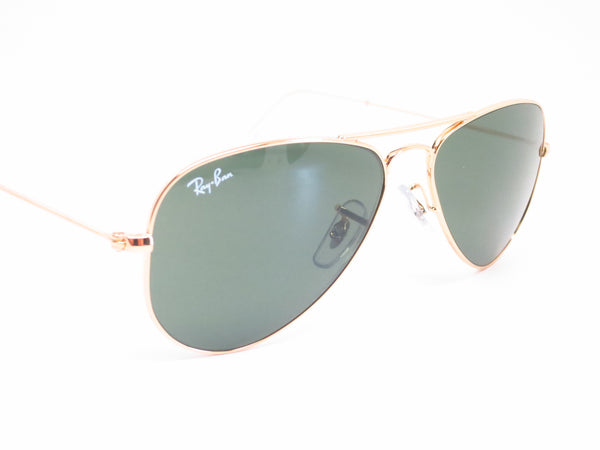 Ray-Ban RB 3044 Aviator Small Metal L0207 Arista (Gold) Sunglasses - Eye Heart Shades - Ray-Ban - Sunglasses - 3