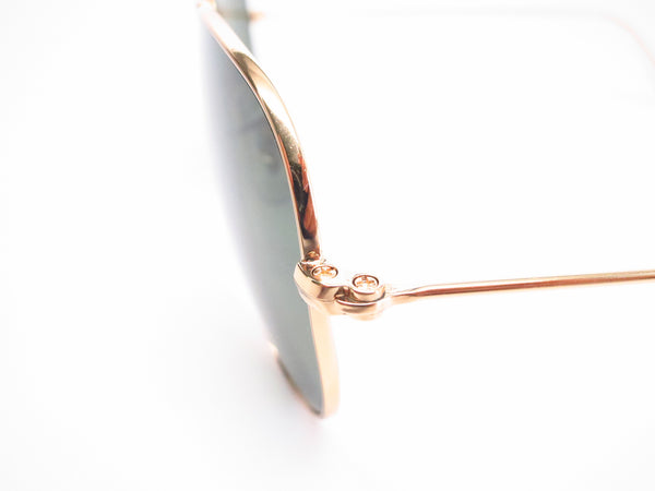 Ray-Ban RB 3044 Aviator Small Metal L0207 Arista (Gold) Sunglasses - Eye Heart Shades - Ray-Ban - Sunglasses - 5