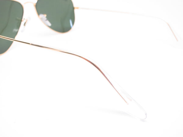 Ray-Ban RB 3044 Aviator Small Metal L0207 Arista (Gold) Sunglasses - Eye Heart Shades - Ray-Ban - Sunglasses - 6