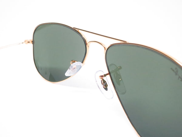 Ray-Ban RB 3044 Aviator Small Metal L0207 Arista (Gold) Sunglasses - Eye Heart Shades - Ray-Ban - Sunglasses - 7