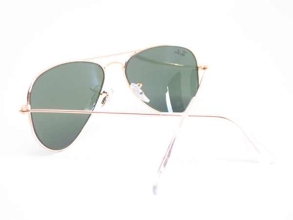 Ray-Ban RB 3044 Aviator Small Metal L0207 Arista (Gold) Sunglasses - Eye Heart Shades - Ray-Ban - Sunglasses - 9
