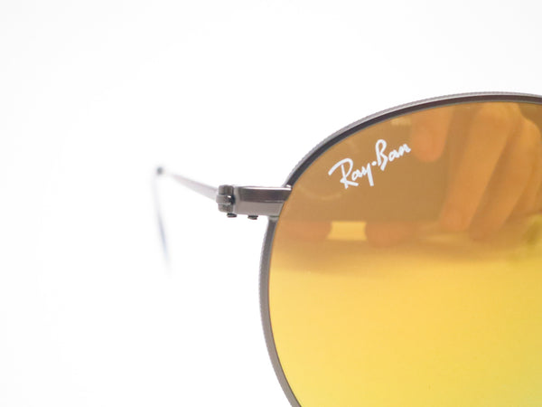 Ray-Ban RB 3447 Round Metal 029/93 Matte Gunmetal Sunglasses - Eye Heart Shades - Ray-Ban - Sunglasses - 4