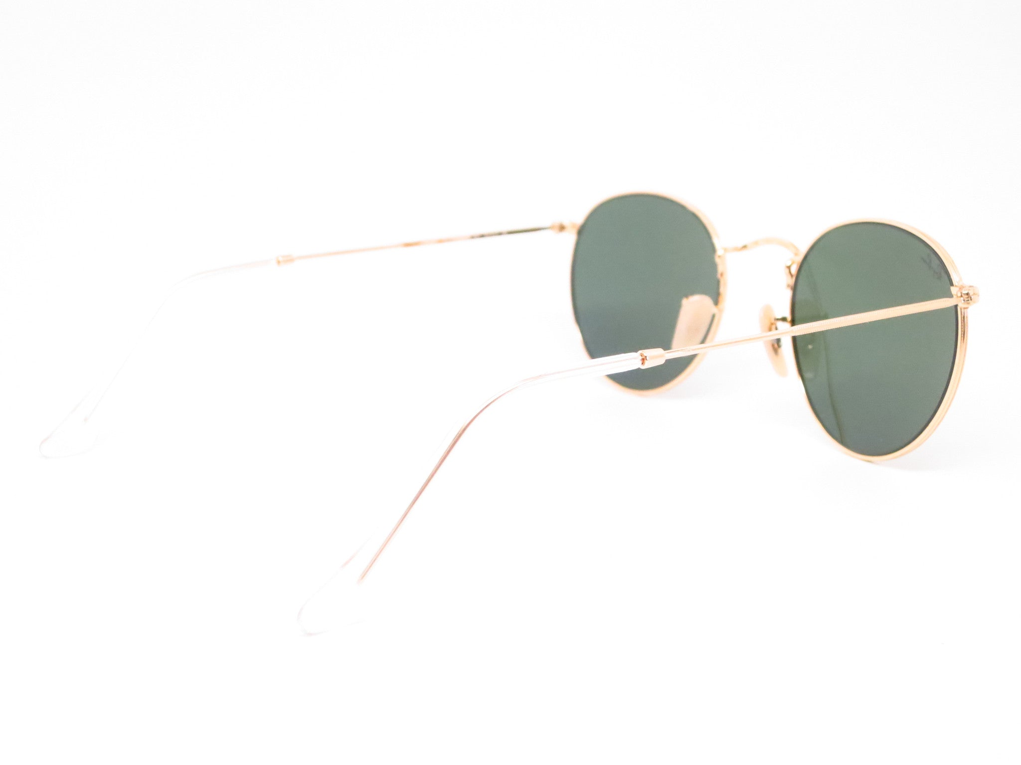 ray ban heart sunglasses  ray ban rb 3447 round metal 001 gold sunglasses eye heart shades ray