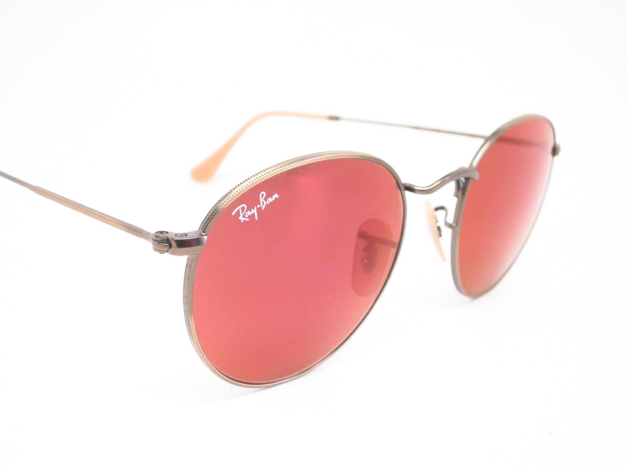 Ray Ban Rb 3447 Round Metal 167 2k Bronze Sunglasses Eye