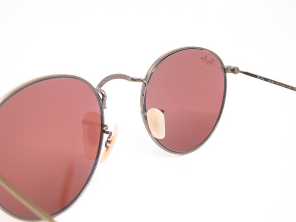 Ray-Ban RB 3447 Round Metal 167/2K Bronze Sunglasses - Eye Heart Shades - Ray-Ban - Sunglasses - 6