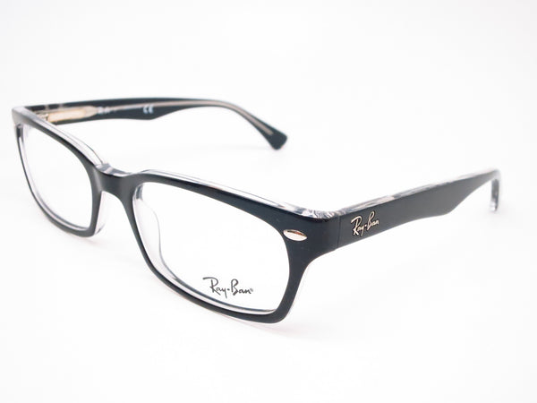 Ray-Ban RB 5150 Top Black on Transparent 2034 Eyeglasses - Eye Heart Shades - Ray-Ban - Eyeglasses - 1