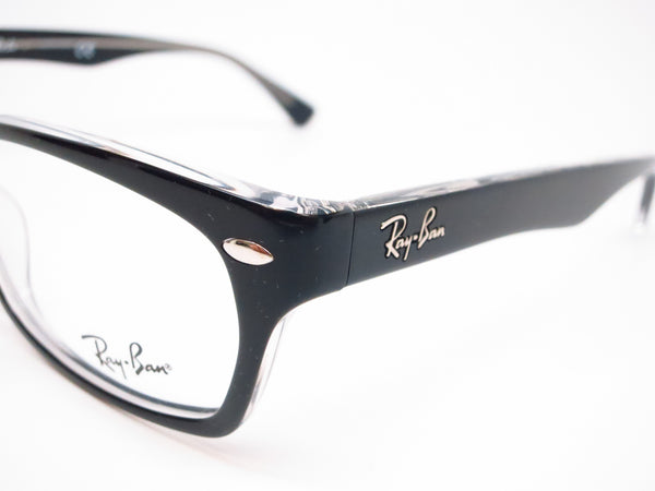 Ray-Ban RB 5150 Top Black on Transparent 2034 Eyeglasses - Eye Heart Shades - Ray-Ban - Eyeglasses - 3