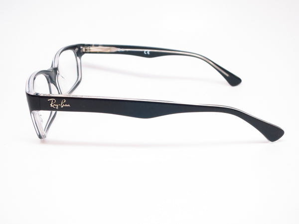 Ray-Ban RB 5150 Top Black on Transparent 2034 Eyeglasses - Eye Heart Shades - Ray-Ban - Eyeglasses - 5