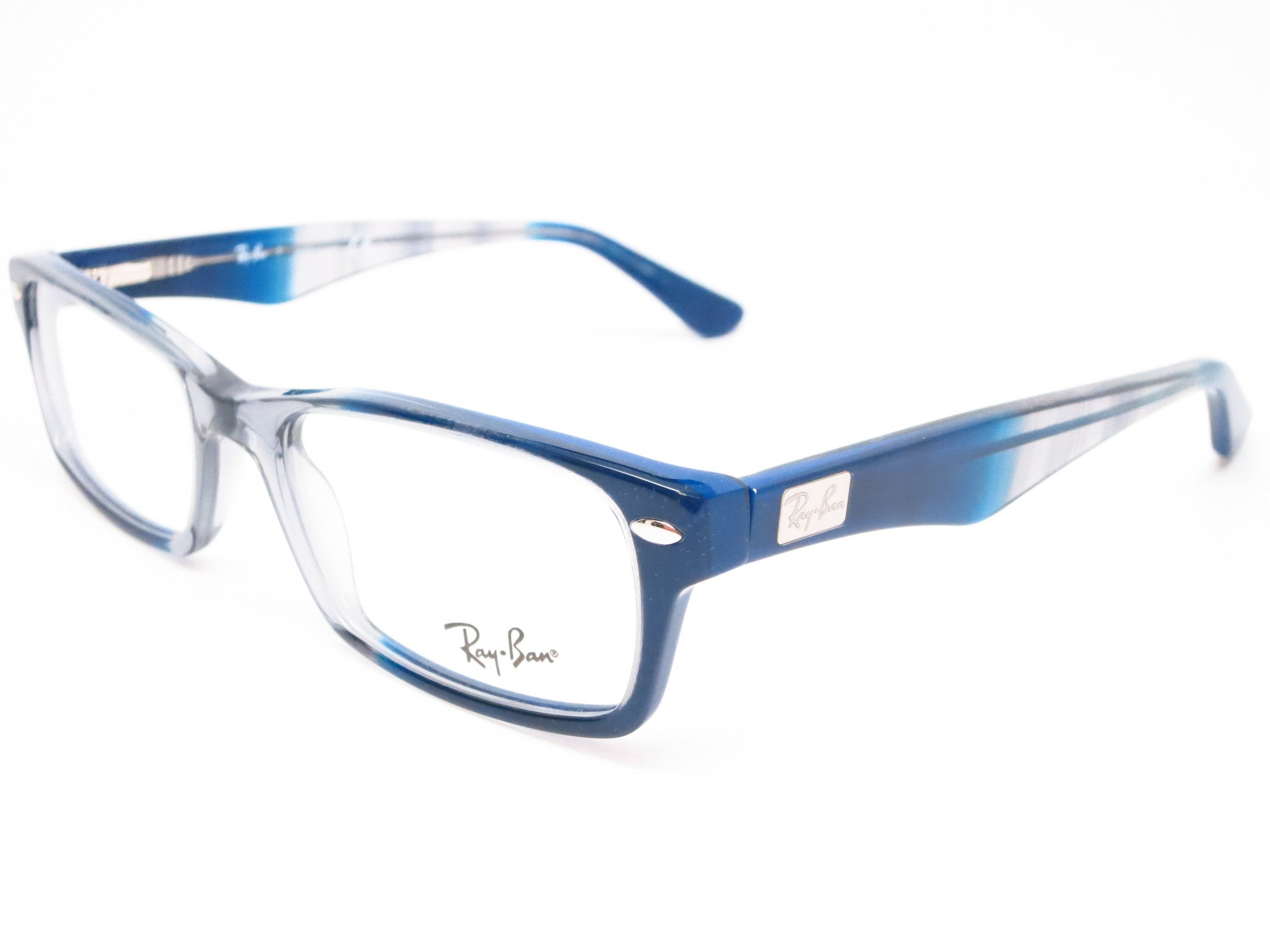 91f89ae06f9ac Ray-Ban RB 5206 Gradient Grey on Blue 5516 Eyeglasses - Eye Heart Shades -