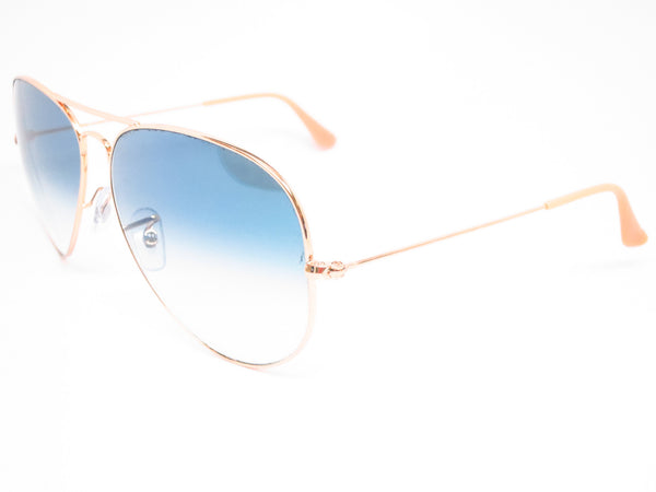 Ray-Ban RB 3025 Aviator Large Metal 001/3F Gold Sunglasses - Eye Heart Shades - Ray-Ban - Sunglasses - 1