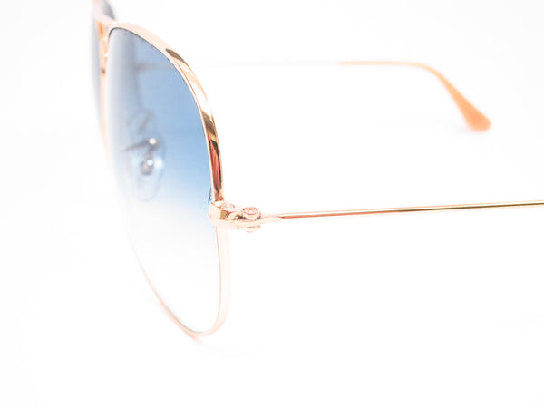 Ray-Ban RB 3025 Aviator Large Metal 001/3F Gold Sunglasses - Eye Heart Shades - Ray-Ban - Sunglasses - 3