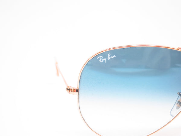 Ray-Ban RB 3025 Aviator Large Metal 001/3F Gold Sunglasses - Eye Heart Shades - Ray-Ban - Sunglasses - 4