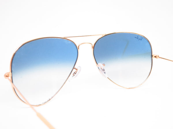 Ray-Ban RB 3025 Aviator Large Metal 001/3F Gold Sunglasses - Eye Heart Shades - Ray-Ban - Sunglasses - 9
