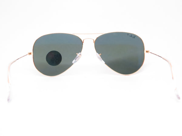 Ray-Ban RB 3025 Aviator Large Metal 001/58 Gold Polarized Sunglasses - Eye Heart Shades - Ray-Ban - Sunglasses - 10