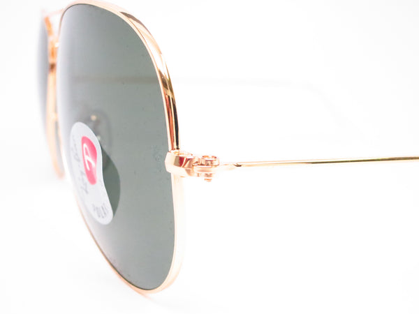 Ray-Ban RB 3025 Aviator Large Metal 001/58 Gold Polarized Sunglasses - Eye Heart Shades - Ray-Ban - Sunglasses - 3