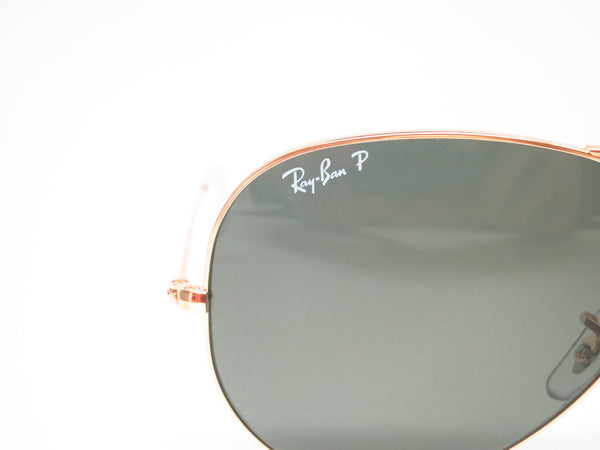 Ray-Ban RB 3025 Aviator Large Metal 001/58 Gold Polarized Sunglasses - Eye Heart Shades - Ray-Ban - Sunglasses - 4