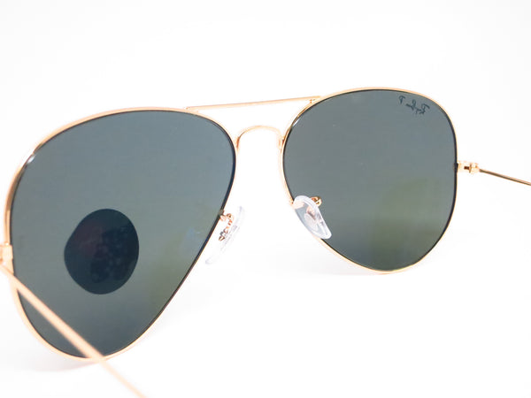Ray-Ban RB 3025 Aviator Large Metal 001/58 Gold Polarized Sunglasses - Eye Heart Shades - Ray-Ban - Sunglasses - 9