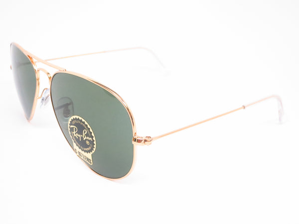 Ray-Ban RB 3025 Aviator W3234 Gold Sunglasses - Eye Heart Shades - Ray-Ban - Sunglasses - 1