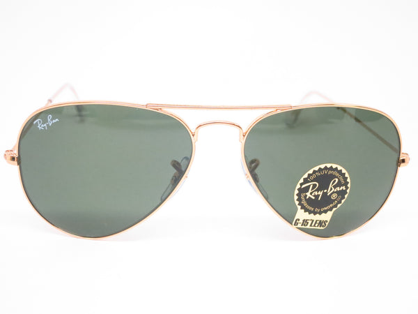 Ray-Ban RB 3025 Aviator W3234 Gold Sunglasses - Eye Heart Shades - Ray-Ban - Sunglasses - 2