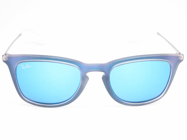 Ray-Ban RB 4221 6170/55 Blue Mirror Sunglasses - Eye Heart Shades - Ray-Ban - Sunglasses - 6