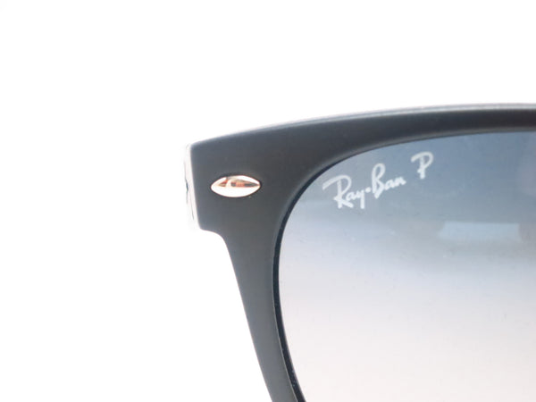 Ray-Ban RB 2132 New Wayfarer 601S/78 Matte Black Polarized Sunglasses - Eye Heart Shades - Ray-Ban - Sunglasses - 4