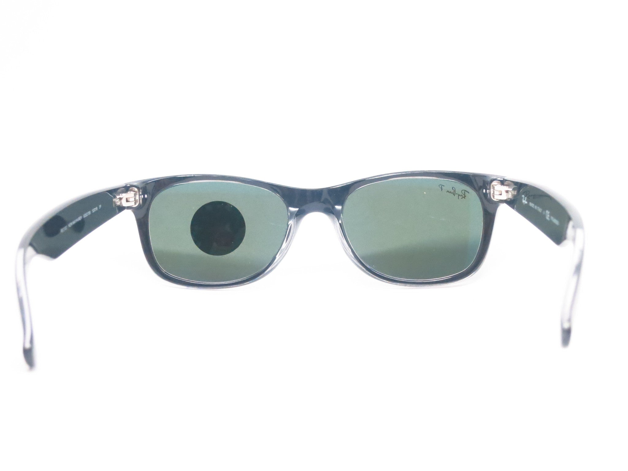 6c9d2794268 ... Ray-Ban RB 2132 New Wayfarer 6052 58 52mm Top Black on Transparent  Polarized ...