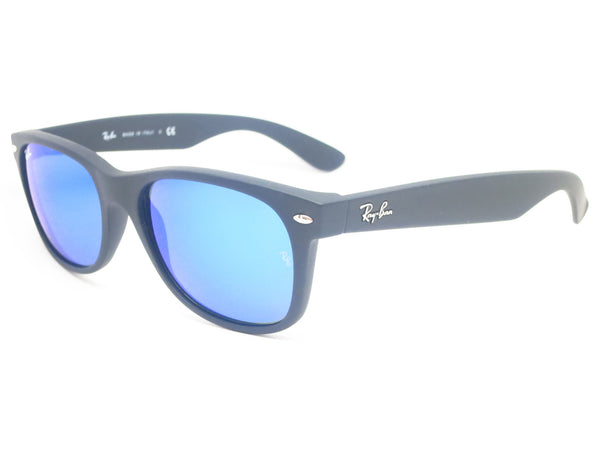 Ray-Ban RB 2132 New Wayfarer 622/17 Rubber Black Sunglasses - Eye Heart Shades - Ray-Ban - Sunglasses - 1