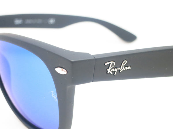 Ray-Ban RB 2132 New Wayfarer 622/17 Rubber Black Sunglasses - Eye Heart Shades - Ray-Ban - Sunglasses - 3