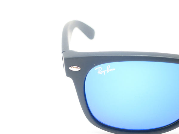 Ray-Ban RB 2132 New Wayfarer 622/17 Rubber Black Sunglasses - Eye Heart Shades - Ray-Ban - Sunglasses - 4
