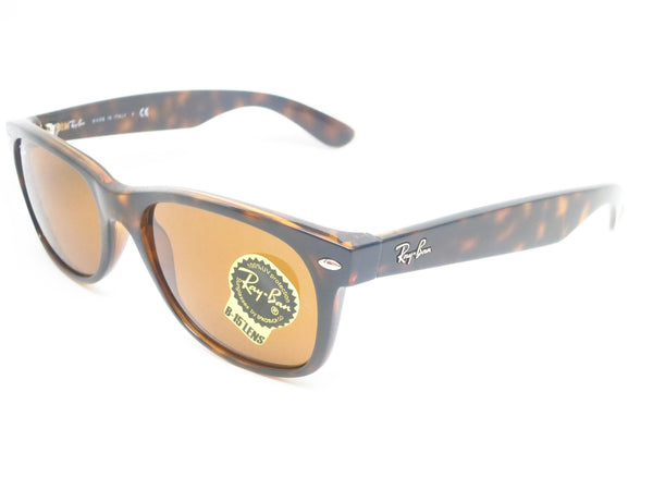 Ray-Ban RB 2132 New Wayfarer 710 Light Havana Sunglasses - Eye Heart Shades - Ray-Ban - Sunglasses - 1
