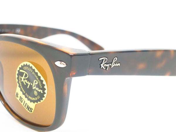 Ray-Ban RB 2132 New Wayfarer 710 Light Havana Sunglasses - Eye Heart Shades - Ray-Ban - Sunglasses - 3
