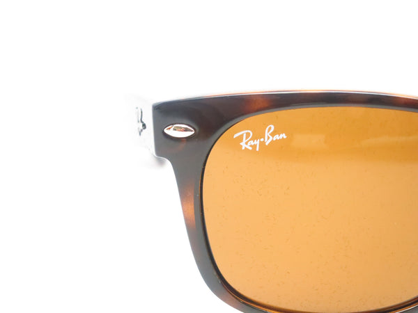 Ray-Ban RB 2132 New Wayfarer 710 Light Havana Sunglasses - Eye Heart Shades - Ray-Ban - Sunglasses - 4
