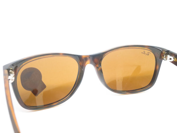 Ray-Ban RB 2132 New Wayfarer 710 Light Havana Sunglasses - Eye Heart Shades - Ray-Ban - Sunglasses - 8