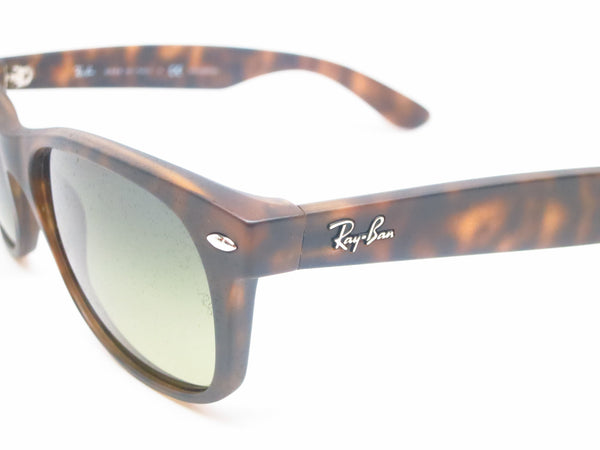 Ray-Ban RB 2132 New Wayfarer 894/76 Matte Havana Polarized Sunglasses - Eye Heart Shades - Ray-Ban - Sunglasses - 3