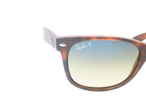 Ray-Ban RB 2132 New Wayfarer 894/76 Matte Havana Polarized Sunglasses - Eye Heart Shades - Ray-Ban - Sunglasses - 4