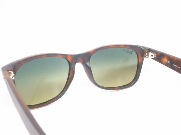 Ray-Ban RB 2132 New Wayfarer 894/76 Matte Havana Polarized Sunglasses - Eye Heart Shades - Ray-Ban - Sunglasses - 8