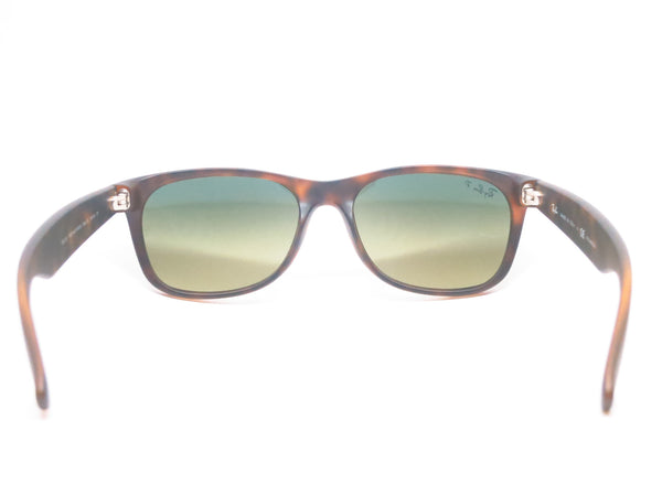Ray-Ban RB 2132 New Wayfarer 894/76 Matte Havana Polarized Sunglasses - Eye Heart Shades - Ray-Ban - Sunglasses - 9