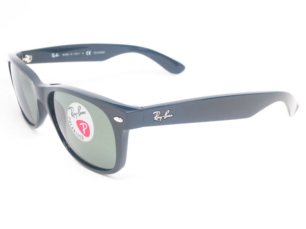 Ray-Ban RB 2132 New Wayfarer 901/58 Black Polarized Sunglasses - Eye Heart Shades - Ray-Ban - Sunglasses - 1