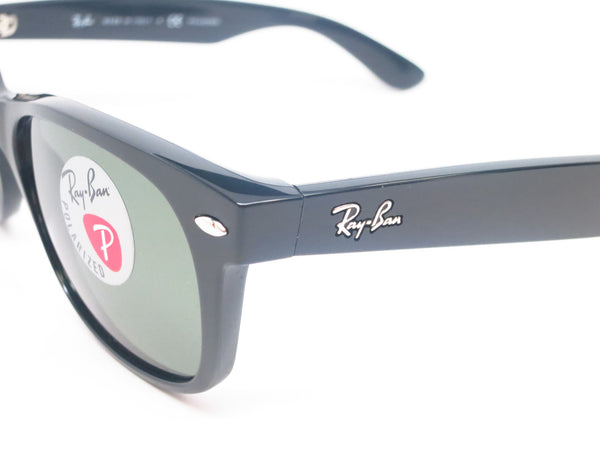 Ray-Ban RB 2132 New Wayfarer 901/58 Black Polarized Sunglasses - Eye Heart Shades - Ray-Ban - Sunglasses - 3