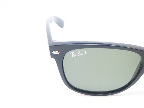 Ray-Ban RB 2132 New Wayfarer 901/58 Black Polarized Sunglasses - Eye Heart Shades - Ray-Ban - Sunglasses - 4