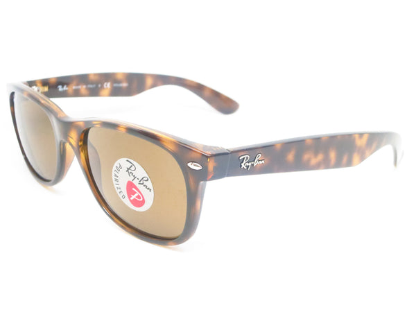 Ray-Ban RB 2132 New Wayfarer 710 Tortoise Polarized Sunglasses - Eye Heart Shades - Ray-Ban - Sunglasses - 1