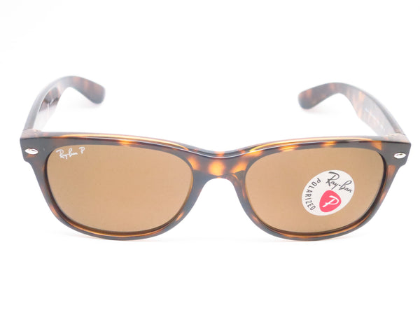 Ray-Ban RB 2132 New Wayfarer 710 Tortoise Polarized Sunglasses - Eye Heart Shades - Ray-Ban - Sunglasses - 2
