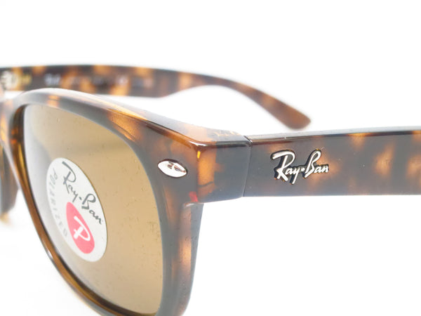 Ray-Ban RB 2132 New Wayfarer 710 Tortoise Polarized Sunglasses - Eye Heart Shades - Ray-Ban - Sunglasses - 3