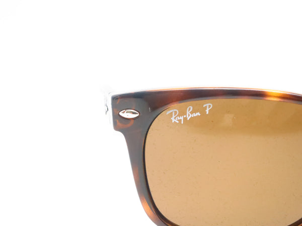 Ray-Ban RB 2132 New Wayfarer 710 Tortoise Polarized Sunglasses - Eye Heart Shades - Ray-Ban - Sunglasses - 4