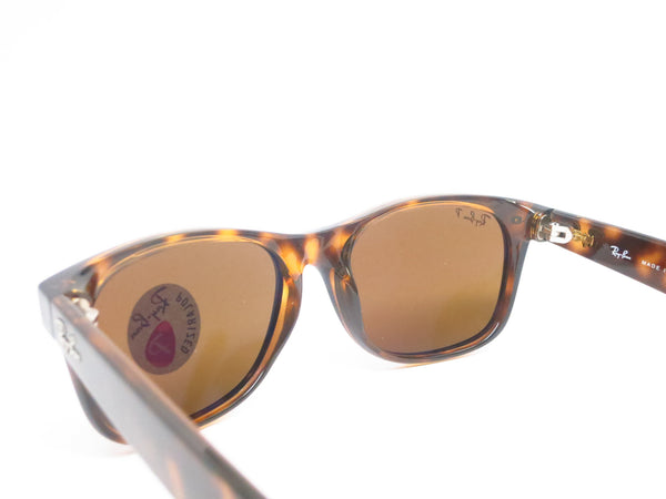 Ray-Ban RB 2132 New Wayfarer 710 Tortoise Polarized Sunglasses - Eye Heart Shades - Ray-Ban - Sunglasses - 8