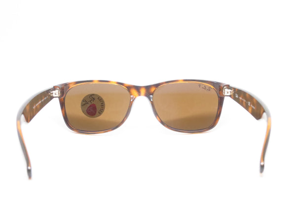 Ray-Ban RB 2132 New Wayfarer 710 Tortoise Polarized Sunglasses - Eye Heart Shades - Ray-Ban - Sunglasses - 9